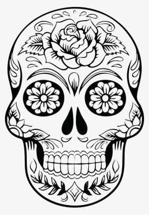 Dead Chica | Skull coloring pages, Coloring pages, Sugar skull drawing | 434x300