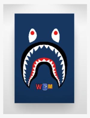 e288415d3baf Bape Shark Logo Png Clip Art Black And White Stock - Bape Hoodie