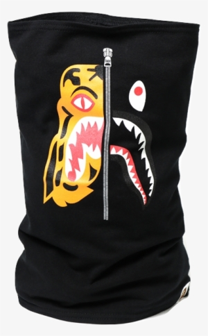 a192e3e74885 Bape Tiger shark Neck Warmer - Bape Tiger Shark