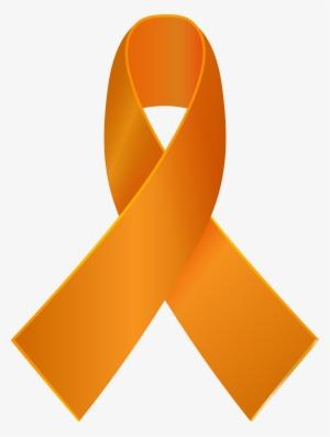 e194ce81473 Orange Awareness Ribbon Png Clip Art - Orange Awareness Ribbon Transparent