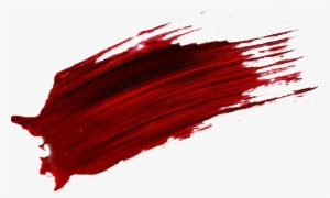 Red Paint Stroke Png Free Hd Red Paint Stroke Transparent Image