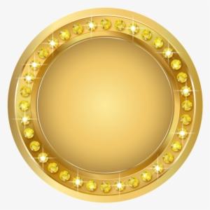 3a52c75e2a5b Seal Gold Png Transparent Clip Art Image - Transparent Background Gold  Banner Png
