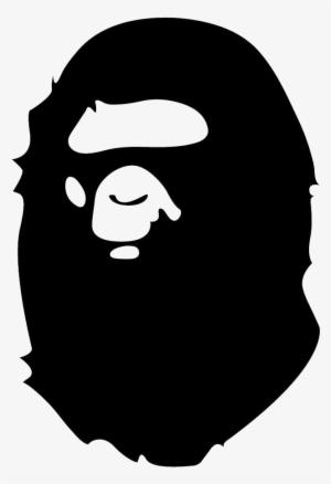 ef546f8e0cd6 Bape Logo Png - Black And White Bape Logo
