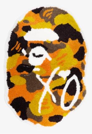 3ec8bbe1fd01 Bape® X Xo Camo Rug Mat - Bape Xo Logo