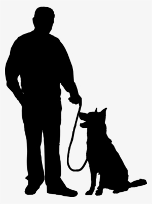 Dog silhouette png free hd dog silhouette transparent image pngkit - Security guard hd images ...