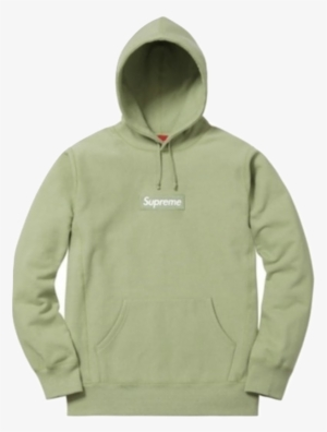 34bbcaf8b68 Supreme Box Logo Hooded Sweatshirt - Supreme Box Logo Hoodie Sage
