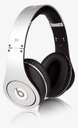 2796d8606bb Beats By Dr Dre Studio Headphones Limited Edition - Beats By Dre Silver  Headphones