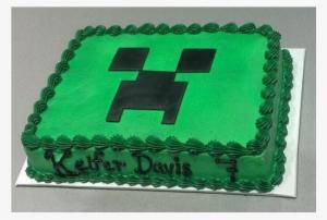 Minecraft Cake Png Free Hd Minecraft Cake Transparent Image