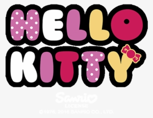 Hello Kitty Clipart Hello Kitty Clip Art Cartoon Clip - Hello Kitty With  Flowers, HD Png Download - vhv