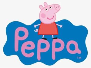 Peppa Pig Logo Png Free Hd Peppa Pig Logo Transparent Image