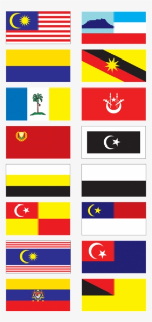 Gallery Of Sovereign State Flags Clipart Bendera Negeri