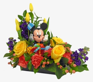 Mickey Birthday Wishes Bouquet