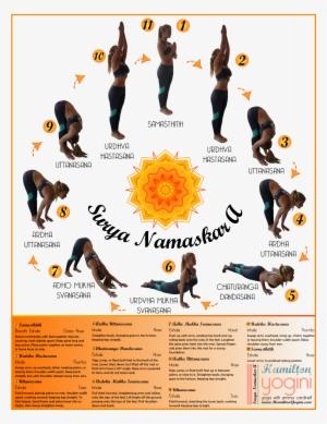 surya namaskar a sun salutation a  sun salutation c