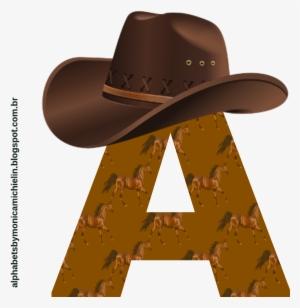 ae89a53a7077d Cowboy Hat And Boots Png Download - Alfabeto Cowboy