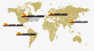 Daubert Cromwell Global Locations Map - Wallpops! World Map Wall ...