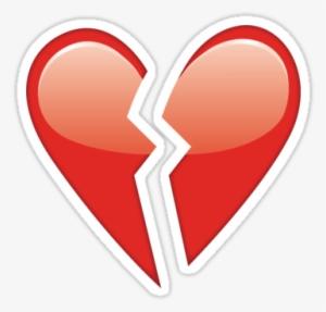 Broken Heart Emoji PNG, Free HD Broken Heart Emoji Transparent Image