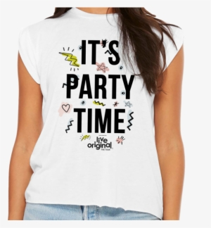 2c1c9475 It's Party Time Womens T-shirt - King & Country Priceless Handwritten ...