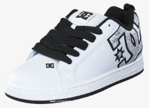 acbf2813bf5a Dc Shoes Men Dc Court Graffik Se Shoe White white Print - Dc Shoes Men s