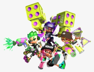 Splatoon 2 Png Free Hd Splatoon 2 Transparent Image Pngkit