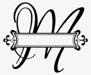 da883bb29f2 Festival Letter M Png Pluspng Com C A Pinterest Fancy - Split Monogram Letter  H