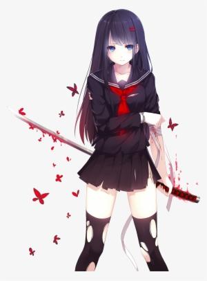 Anime Girl Png Free Hd Anime Girl Transparent Image Pngkit