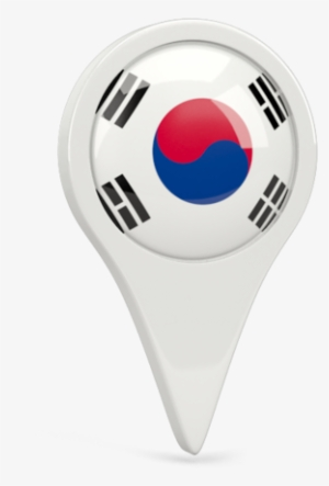 09720887f7 Illustration Of Flag Of South Korea - South Korea Flag Icon