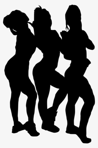 63f32f633f2ef Free Png Girl Group Hoto Posing Silhouette Png Images - 8 Girls Silhouette  Png