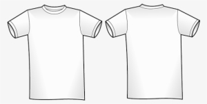 T Shirt Template Png Free Hd T Shirt Template Transparent Image Pngkit