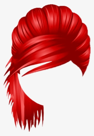Beautiful Red Hair Roblox Red Hair Png Free Hd Red Hair Transparent Image Pngkit
