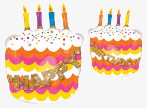Unique Gold Birthday Letter Cake Candles