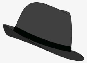 a7c7d333216 Fedora Clipart Png - Black Fedora Clip Art