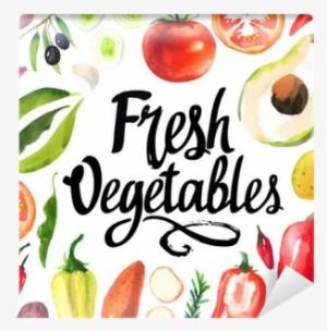 7f50af704105bf Illustration With Watercolor Food - Food