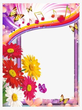 da9f85127a9 Flower Frames PNG