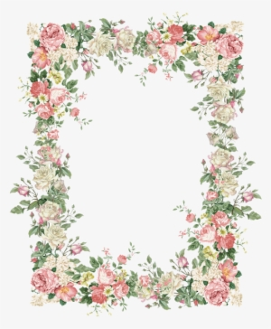 0c59a15122890 15 Vintage Floral Border Png For Free Download On Mbtskoudsalg - Vintage  Flowers Frame Png