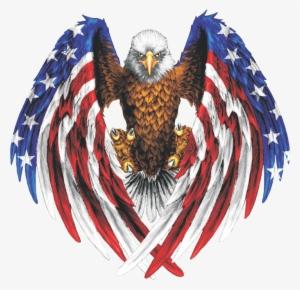 American Flag Eagle Png Free Hd American Flag Eagle Transparent