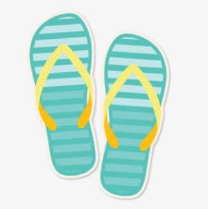 225e302c9 Striped Flip Flops Clipart Svg Scrapbook Cut File Cute - Cute Flip Flops  Clip Art