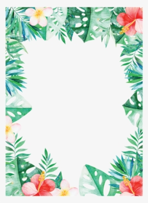 Tropical Border Png Free Hd Tropical Border Transparent Image Pngkit Tropical leaves borders, greenery frames, tropical foliage, watercolor monstera, tropical floral frame, palm leaves clipart, exotic leaf png. tropical border png free hd tropical