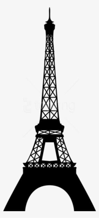 Vector Illustration Of Eiffel Tower On Champ De Mars - Eiffelturm Clipart,  HD Png Download - 441x700(#5776322) - PngFind