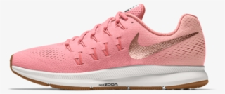huge discount f0c2d 0db55 Women s Nike Air Zoom Pegasus 33 Id Running Shoe • - Nike Zoom Shoes Pink
