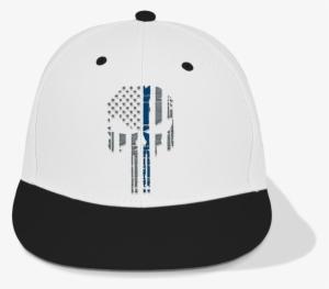 e066e78b6b694 Punisher Skull Hat White - Baseball Cap